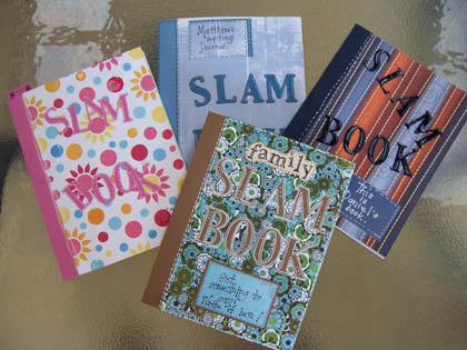 Slam Book The Scrapbook House Blog