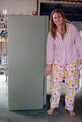 Now just look at this sexy beast in all my glory! Mismatched jammies and all. Just keeping it real.