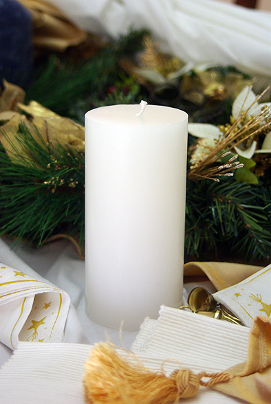 candle-white