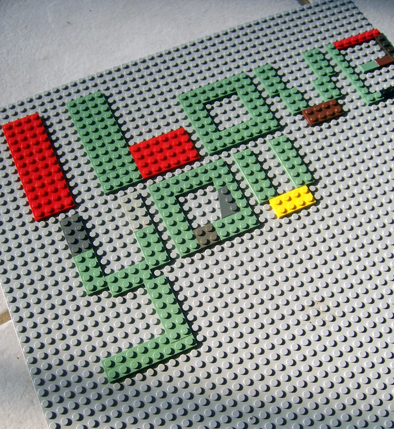 lego I love you