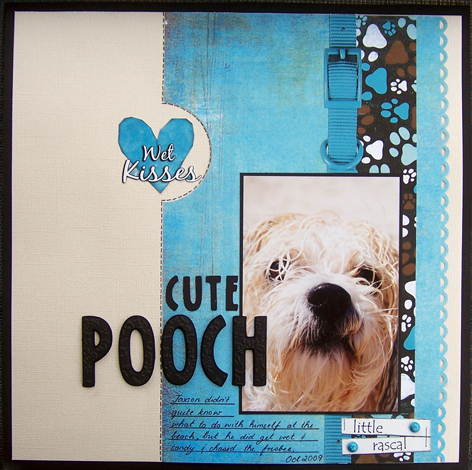 Layout - Cute Pooch