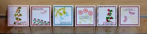 6 cute cards