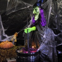 A Life-size Witch