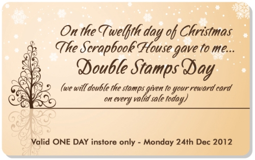 Twelfth Day of Christmas The Scrapbook House Geraldton