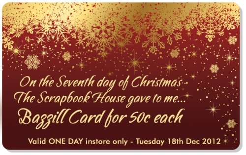 Seventh Day of Christmas The Scrapbook House Geraldton