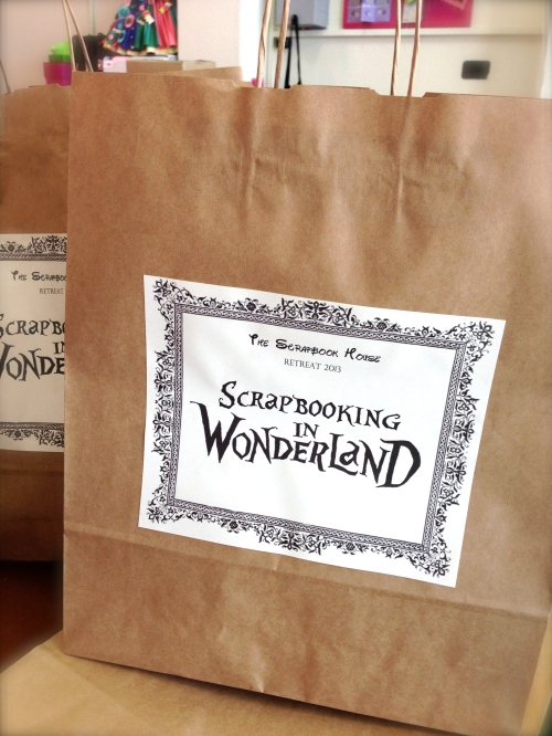 Scrapbooking in Wonderland