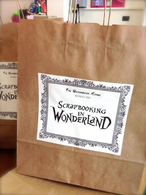 Scrapbooking in Wonderland