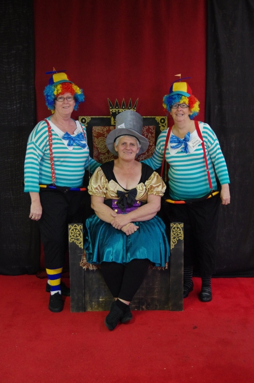 Mad Hatter and the Tweedles