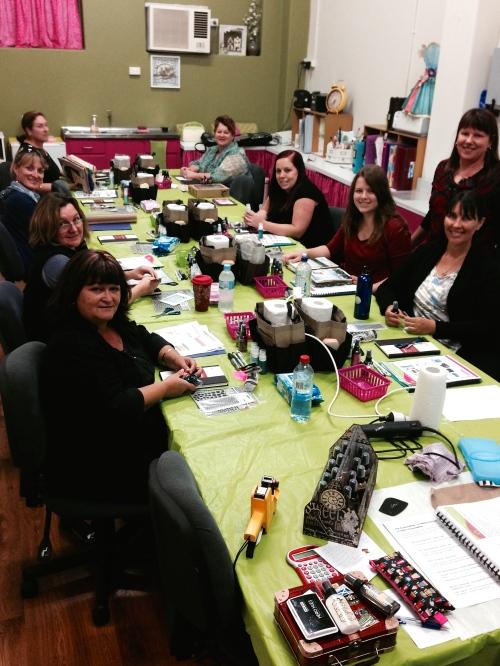 Art Journaling Class 1 2014