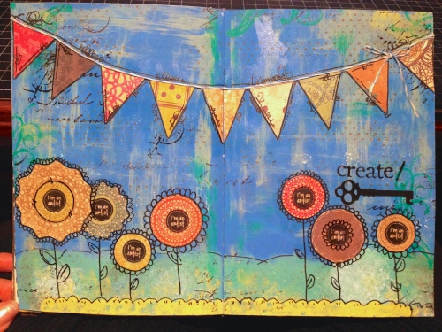 Create Art Journal Page