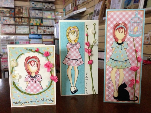 Prima Doll Cards