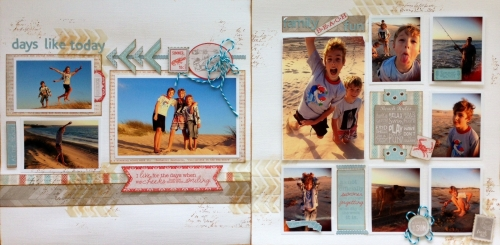 Days Like Today Scrapbook Kit
