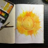 Summer Watercolour Challenge by Tania Scrapbook House